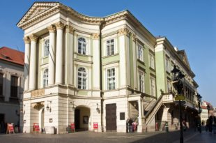 The Estates Theatre in Prague