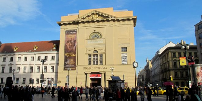 Hybernia Theatre Prague